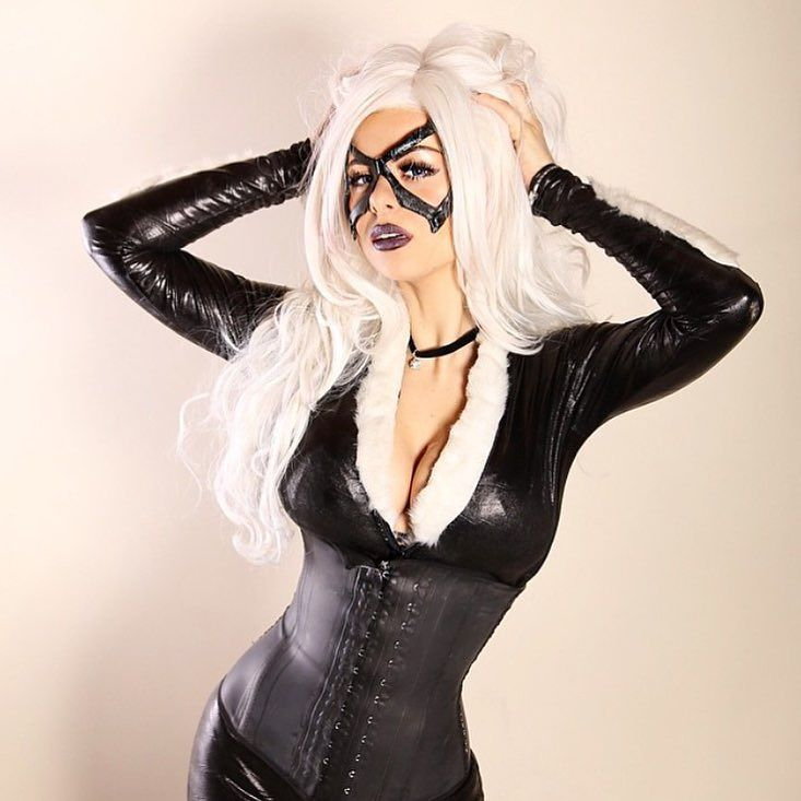 Black Cat Cosplay Porn Gifs