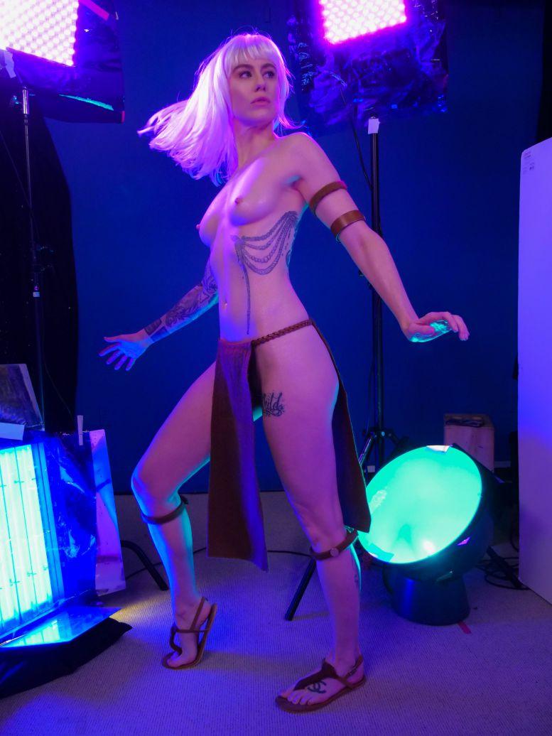 Comic Book Girl 19 Nude