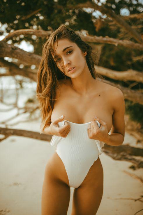 Natalie Roush Beach Babe  Sexy Youtubers