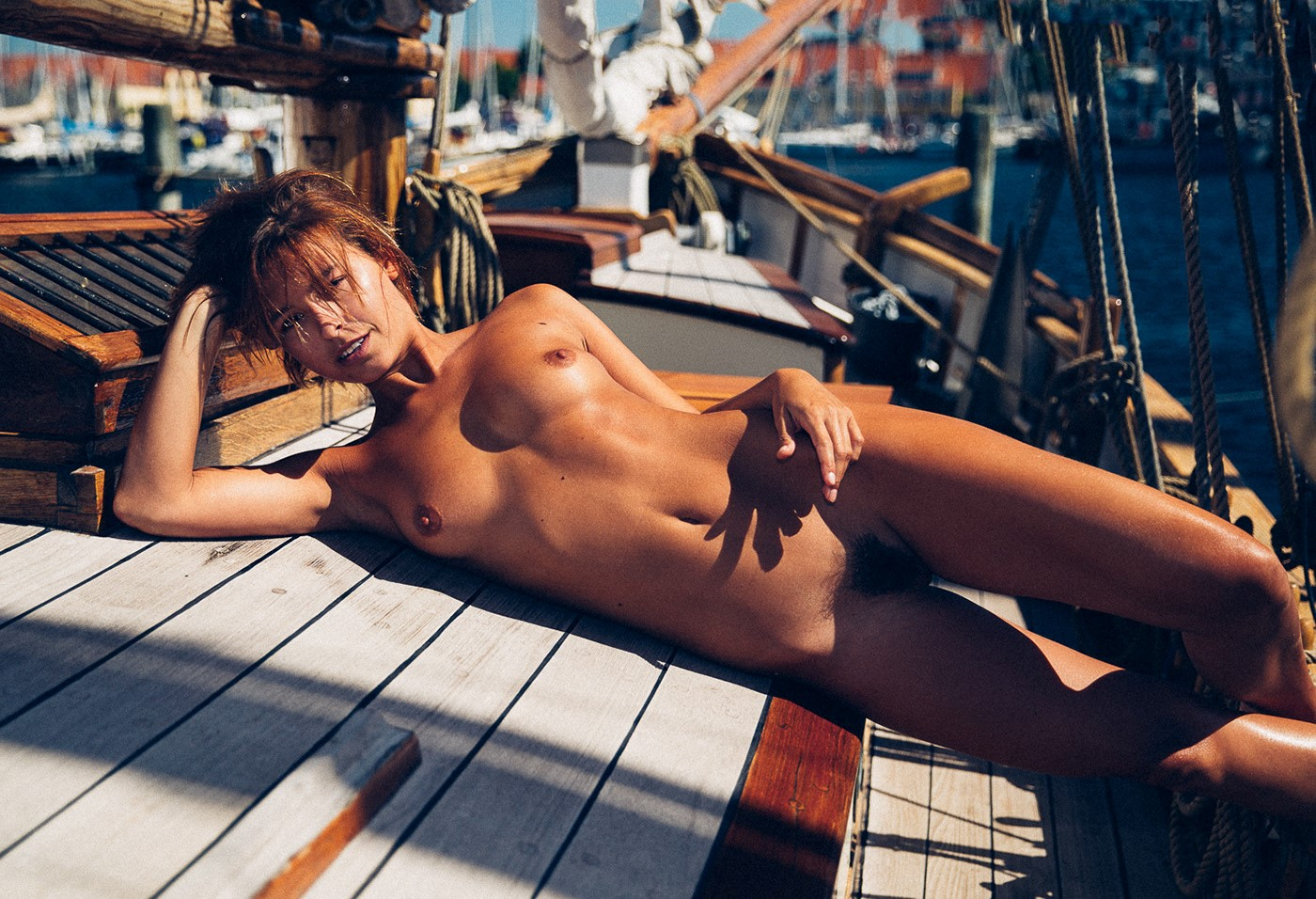 Marisa coughlan nude in new suit