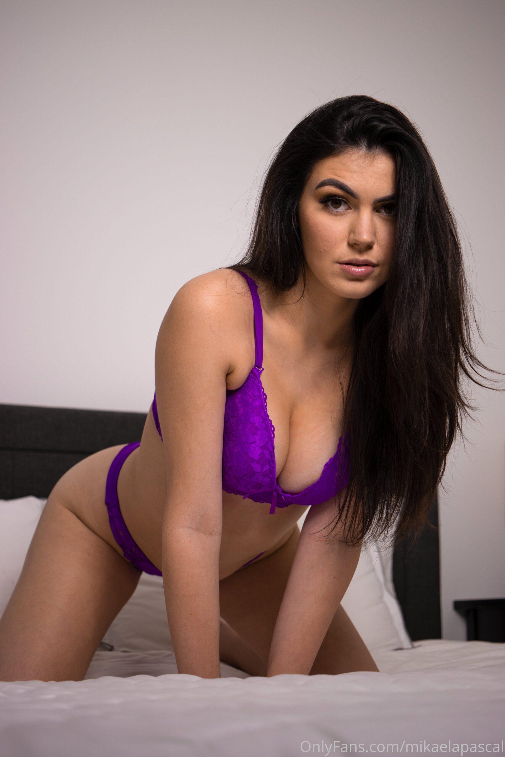 Mikaela Pascal Purple Lingerie 4 scaled