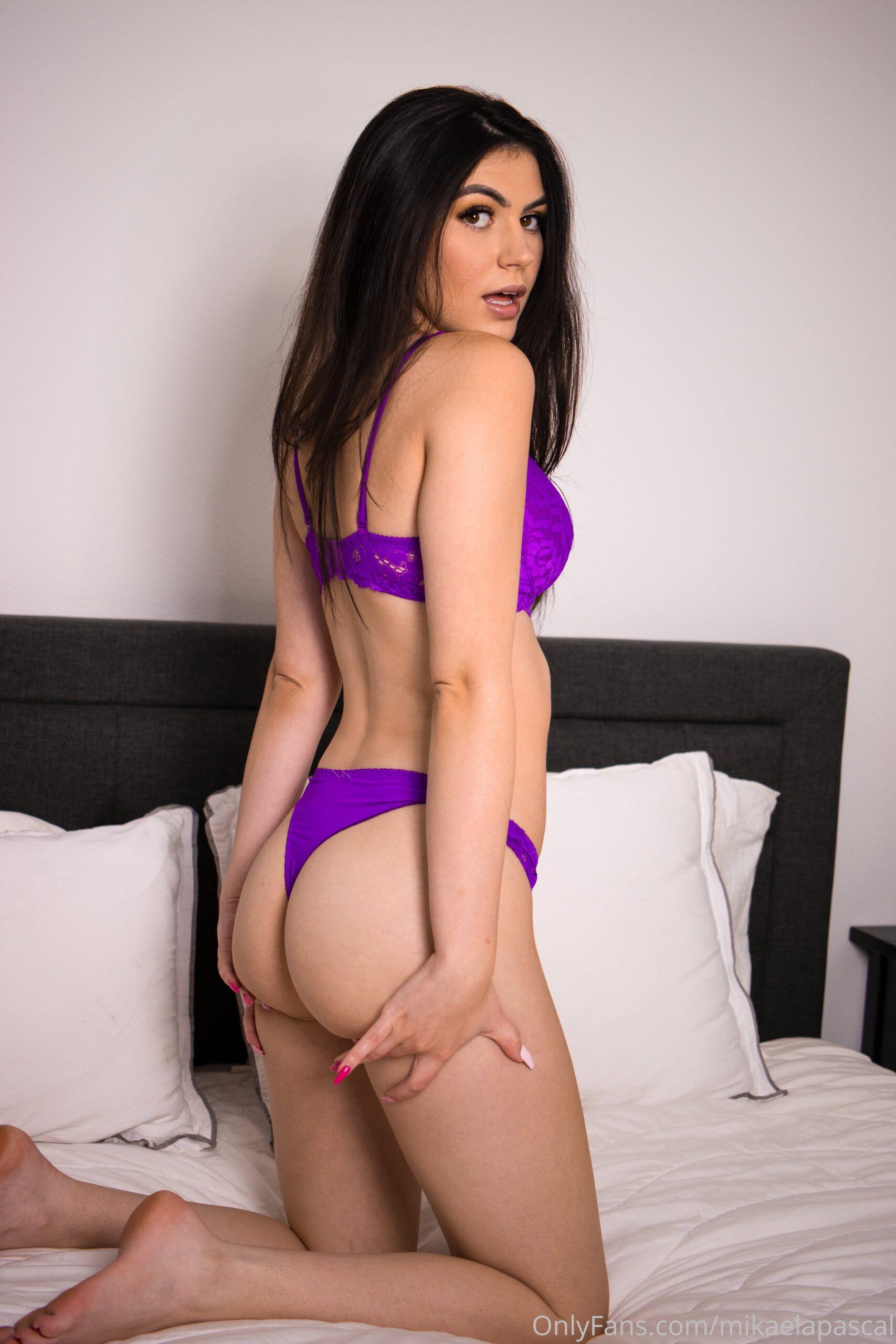 Mikaela Pascal Purple Lingerie 7 scaled